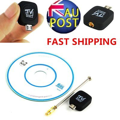 NEW Mini Micro USB DVB-T Digital Mobile TV Tuner Receiver for Android 4.0-5.0 ZX