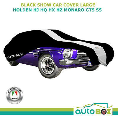 Indoor Washable Show Car Cover for HJ HQ HX HZ Monaro GTS SS Black Large