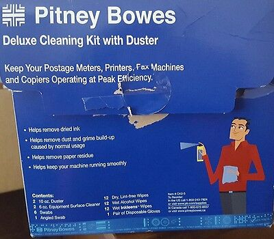 Pitney Bowes Deluxe Cleaning Kit with Duster (Open Box)