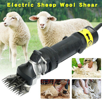 500W Electric Sheep Shearing Clipper Shear Goats Supplies Alpaca for Farm Shears