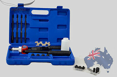Insert Nut Riveter Kit, rivet gun threaded metal outsert captive nut + 90 nuts