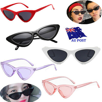 Hot Unisex Womens Mens Retro Vintage Cat Eye Round Glasses Fashion Sunglasses OW