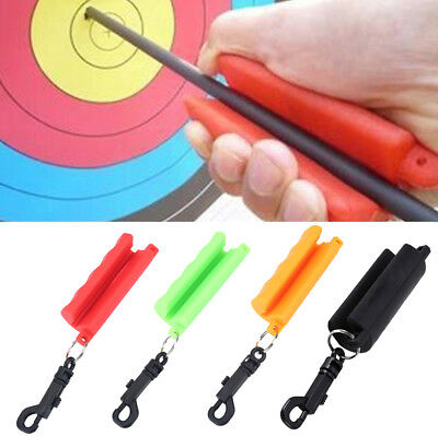 Silicone Keychain Archery Arrow Puller For Target Hunting Bow Shoot Trainning JA
