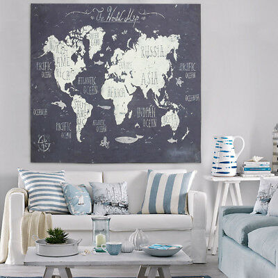 World Map Indian Mandala Wall Hanging Tapestry Yoga Home Living Room Decor Art