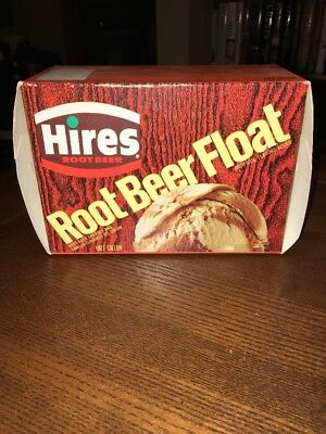 Rare 1970-1980 Hires Root Beer Float Ice Cream Box