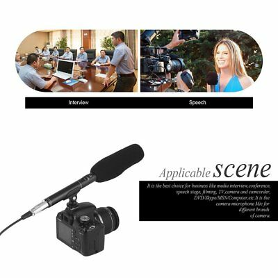 Professional Broadcast Condenser Interview Uni-Ultra-Directional Microphone TG