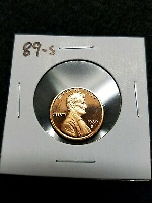1989-S Us Proof Lincoln Cent