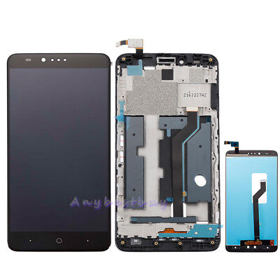 Replacement LCD Touch Screen Digitizer Assembly + Frame For ZTE Zmax Pro Z981 US