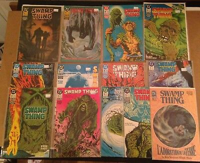 SWAMP THING #64-76 - Alan Moore & Rick Veitch - 13 Issue lot - 1987 VF to NM-