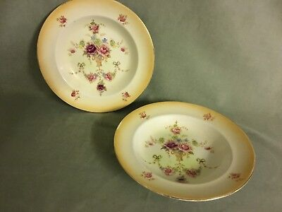 S. Fieldings' Crown Devon 'windsor' Soup Bowls