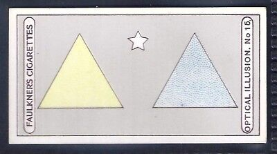 Faulkner-Optical Illusions-#15- Triangles And Star