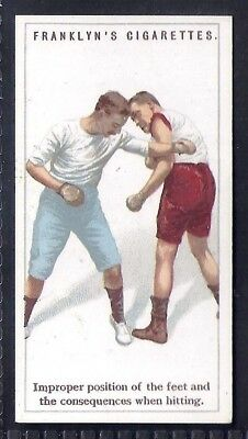 Franklyn Davey-Boxing-#22- Improper Position Of The Feet