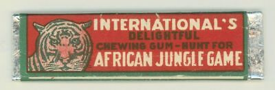 Vintage International's Delightful Chewing Gum Stick Wrapper Long Island City NY