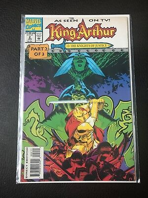 KING ARTHUR & THE KNIGHTS OF JUSTIC Comic - No 2 - Date 01/1994 - Marvel Comics
