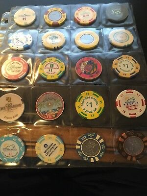 (20) $1 Puerto Rico Casino Chips (20) Total Chips