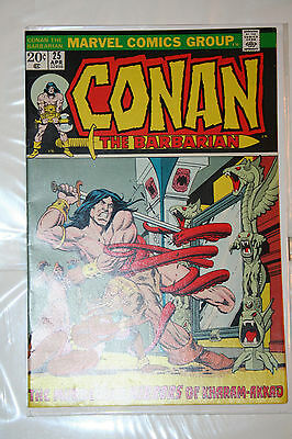 Conan the Barbarian #25 Barry Windsor Smith! Roy Thomas! High Grade! CGC worthy!