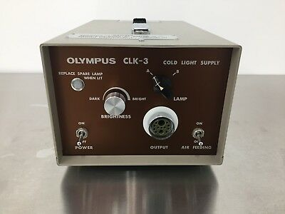 Olympus CLK-3 Cold Light Supply / Source