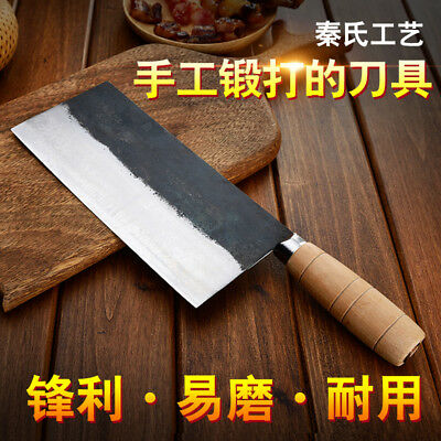 Cleaver Chinese Chef Knife Style Meat Forged Steel Slicing Chopping
