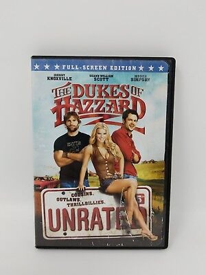 The Dukes of Hazzard DVD Unrated Full Screen Edition