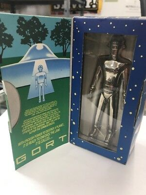 Gort Robot Space Sci-Fi Toy Day The Earth Stood Still Factory Sealed Mib 5""