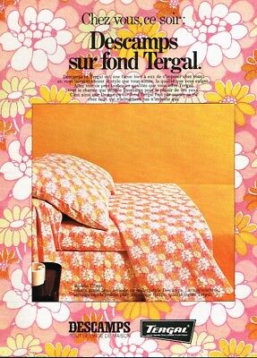 Publicité Advertising 1968 Linge De Maison Draps Agalys L Other Breweriana Collectibles