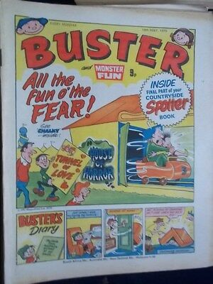 Buster & Monster Fun Comic.[ 19Th May 1979]. Final Part Countryside Spotter Book