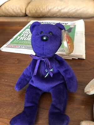 !!. Ultra Rare 1st Edition Ty Princess Diana Beanie Baby Mint Condition.