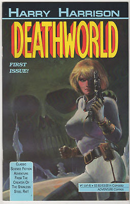 DEATHWORLD books 1 2 & 3 COMPLETE SERIES LOT (12) run set Harry Harrison VF 1990