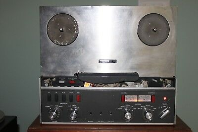 Revox A77 Reel to Reel Player/Recorder 2 Track High Speed 7.5 15 IPS