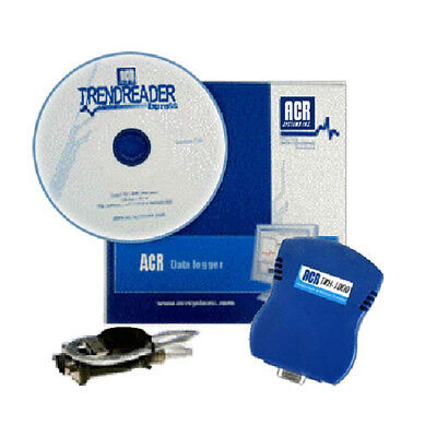 ACR Systems TRH-1000-SP Two Channel Temp and RH Data Logger Starter Pack