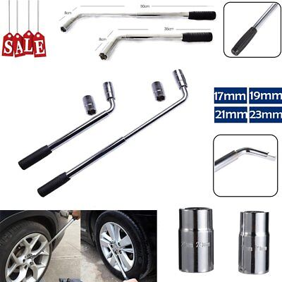 17/19 21/23mm Extendable Wheel Telescopic Car Truck Brace Socket Tyre Nut Wrench