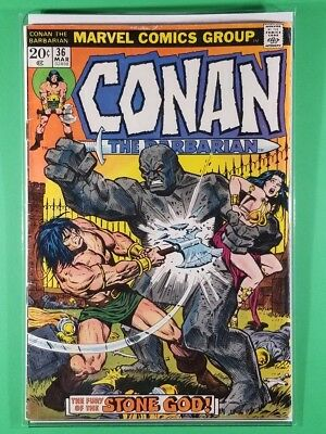 Conan the Barbarian #36 (Marvel, March 1974)