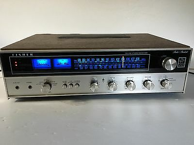 RARE VINTAGE The Fisher 222 AM/FM Stereo Receiver SERVICED LED Upgrade MINTY