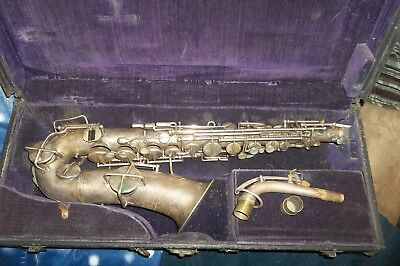 The Buescher True Tone Low Pitch Saxophone 1924 Project Elkhart Ind
