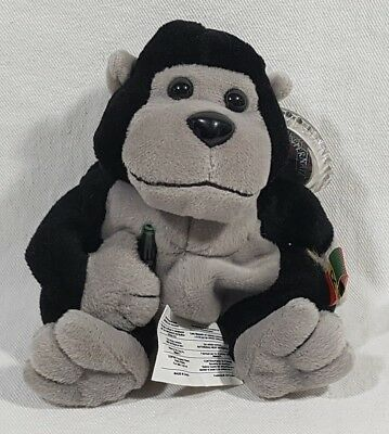 Coca Cola International Beanie Baby Collection 1999 Rilly The Gorilla Rwanda 218