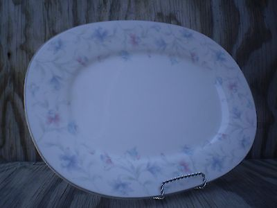 New Decade By Noritake May Breeze Large Serving Platter Made In Japan