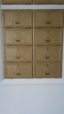 Rear-Loading Commercial Mailbox/PO Box (8 Large Units)
