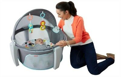 On-The-Go Fisher-Price Baby Dome, White