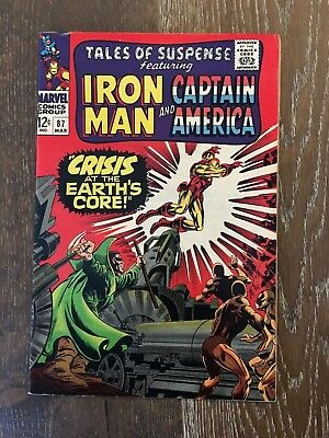Tales of suspense #87 –Featuring Iron Man and Captain America