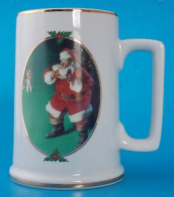 "When Friends Drop In Coca Cola 1996 Collector Edition Mug 4-1/2"" Tall"