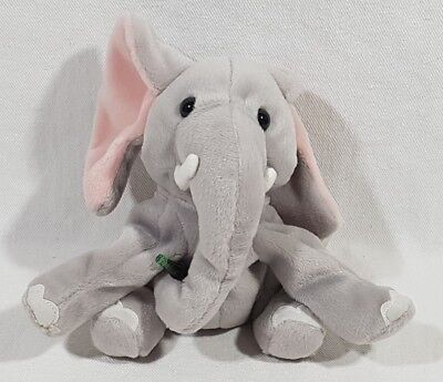 Coca Cola International Beanie Baby Collection 1999 Clomp The Elephant Kenya 217