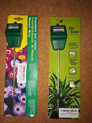 PH Tester with FREE Moisture Meter