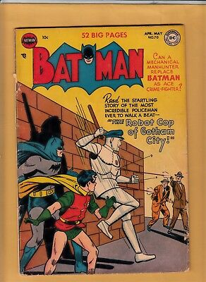 BATMAN #70 1952 DC Comics - Appearance of Penguin