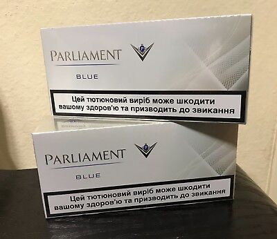 heatsticks PARLIAMENT BLUE 2-box; 400-sticks
