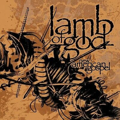 Lamb Of God - New American Gospel LP - 2012 BLACK VINYL - Heavy Metal - Death