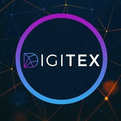 100 Digitex Cryptocurrency Futures Trading Tokens (DGTX) post ICO