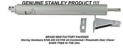 Stanley Hardware S748-300 CD1708 Air-Controlled / Pneumatic Door Closer SHIPS FR