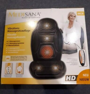 Medisana Car Seat / Arm chair Back Massager MCH unwanted present