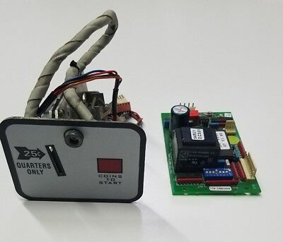 Set-O-Matic Coin Acceptor and Power Supply Board 220v for Wascomat