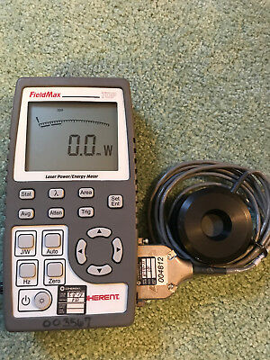 Coherent FieldMax TOP, laser power meter with PM10 head